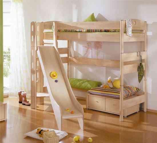 camas infantiles originales tobogna genelares