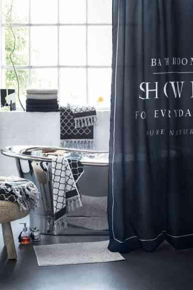 cortinas de bano divertidas hm mensaje