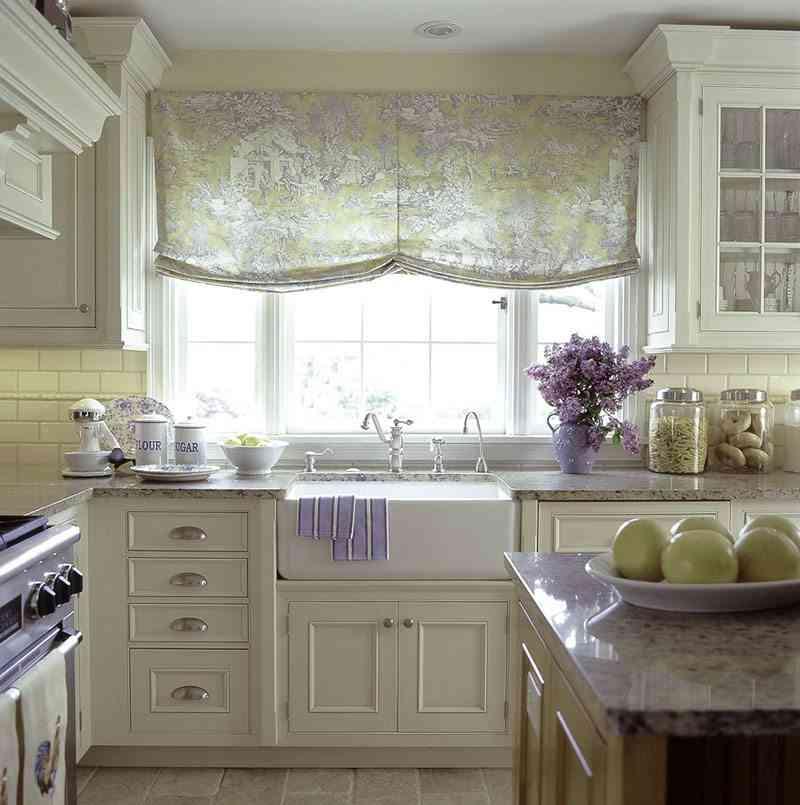 D nde comprar cortinas de cocina online for Cortinas faciles para cocina