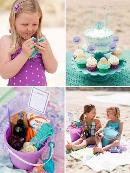 decorar cumpleanos infantiles playa