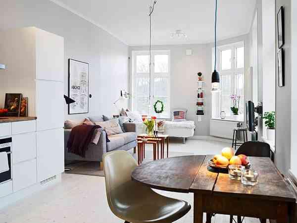 decorar un piso pequeno freshome 1