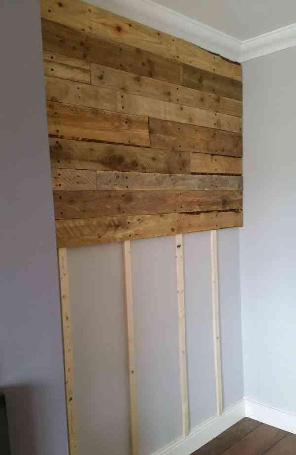 C mo forrar paredes de madera paso a paso - Paneles de madera para paredes interiores ...