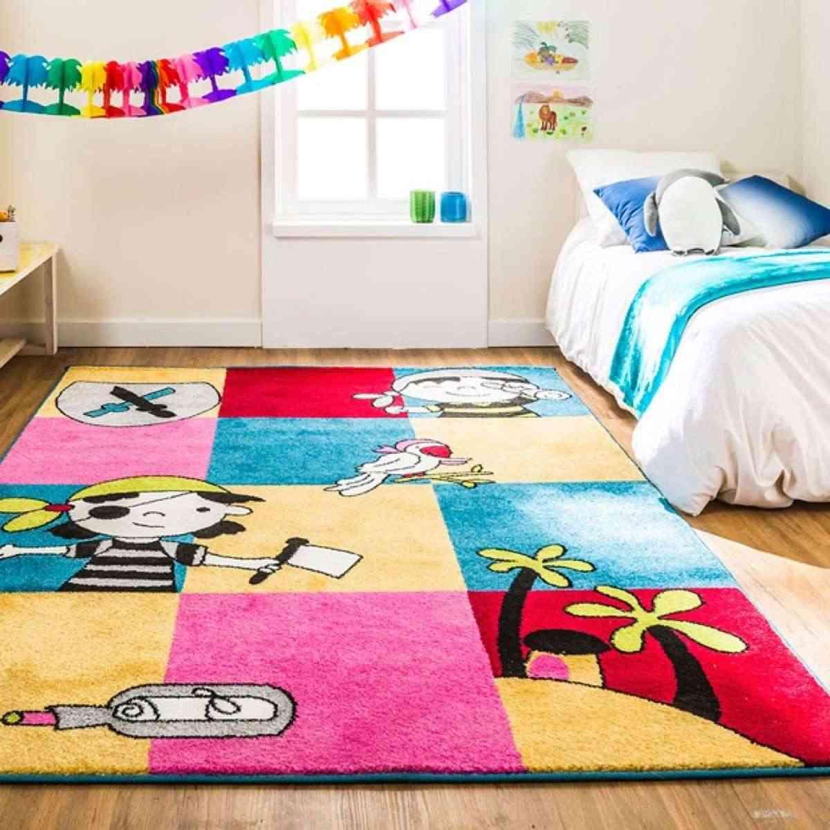 12 alfombras juveniles para animar el dormitorio - Barandilla cama nino leroy merlin ...