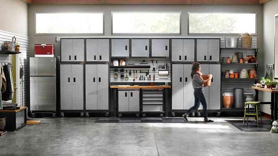 5 claves para pintar el garaje colores materiales e for Muebles para garage