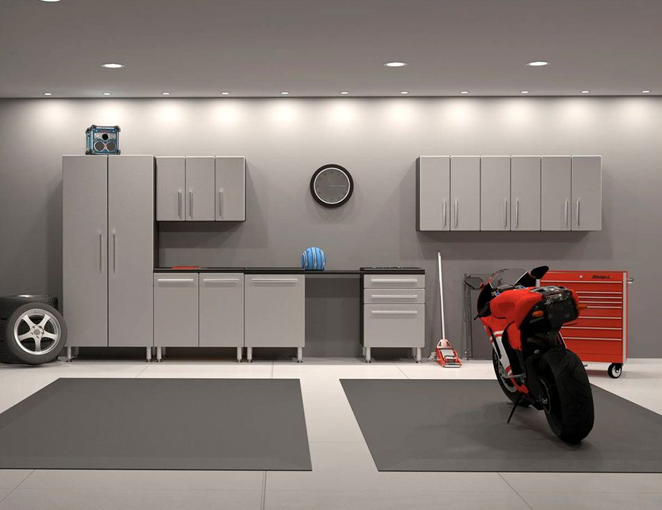 5 claves para pintar el garaje colores materiales e for 2 car garage design ideas