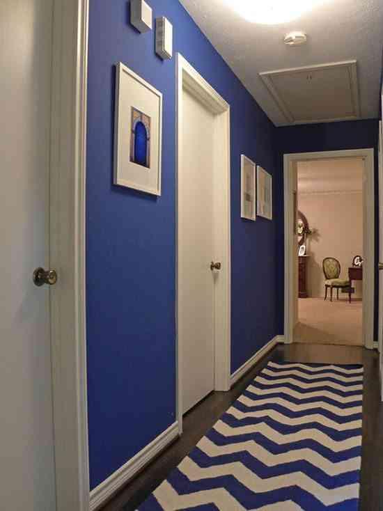 C mo pintar un pasillo estrecho y sin luz - Ideas para pintar un pasillo ...