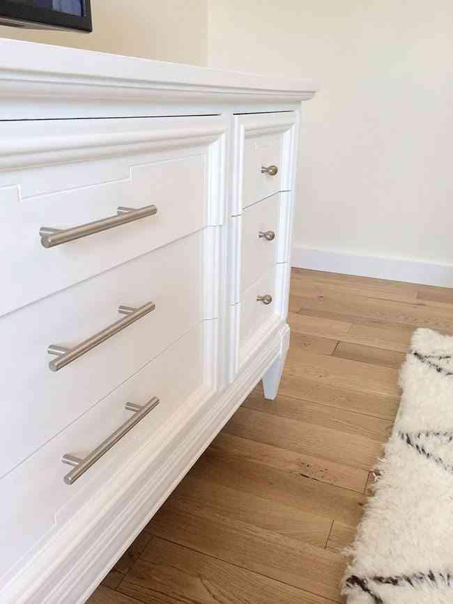 C mo pintar una c moda de blanco paso a paso - Como pintar un mueble en blanco ...