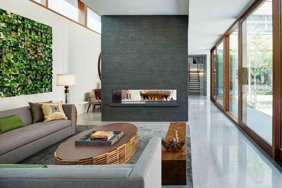 suelo de terrazo sin brillo minimalisti
