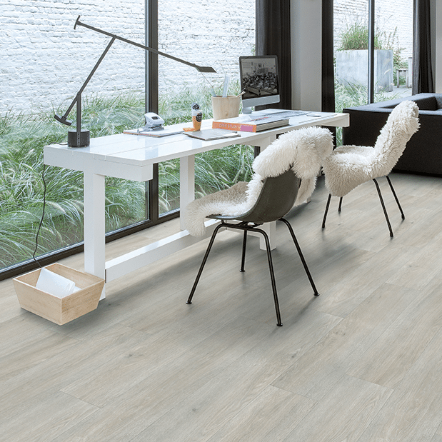 suelos modernos para casa quickstep gris
