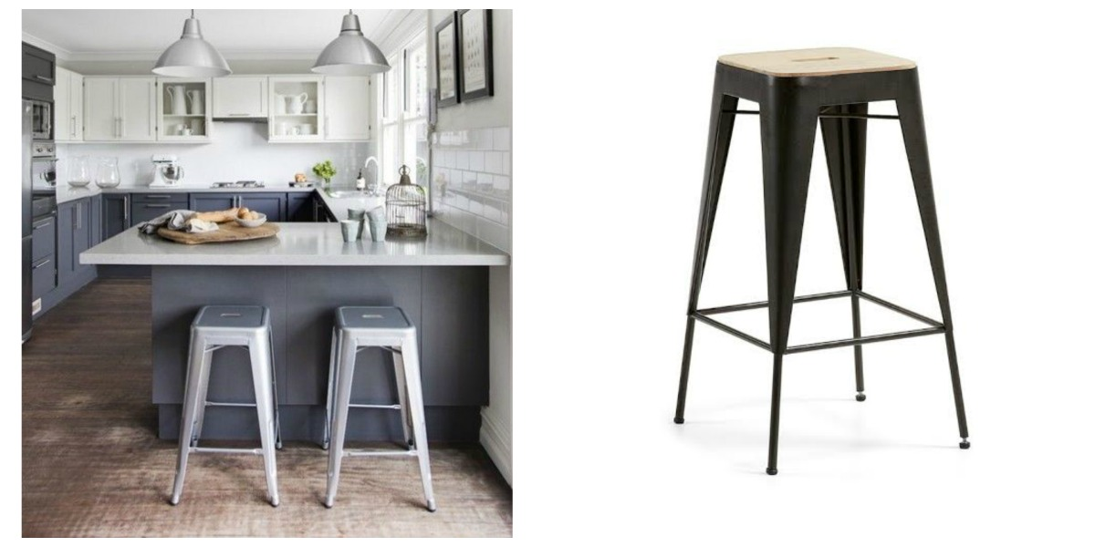 5 taburetes de cocina para crear 5 estilos diferentes - Taburete cocina diseno ...