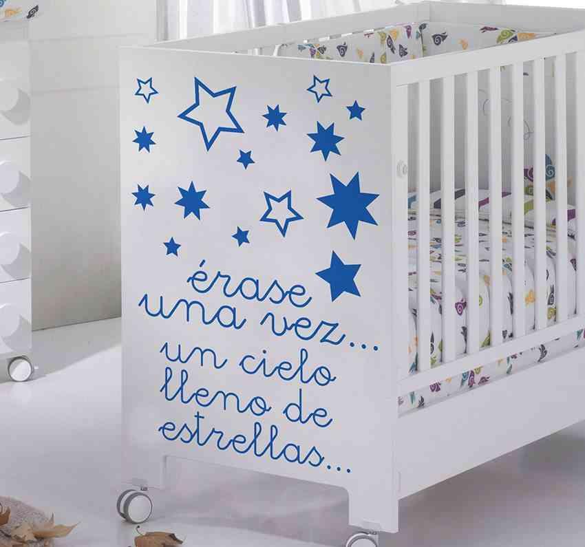 vinilos para bebes cuna estrellas tenvinilo