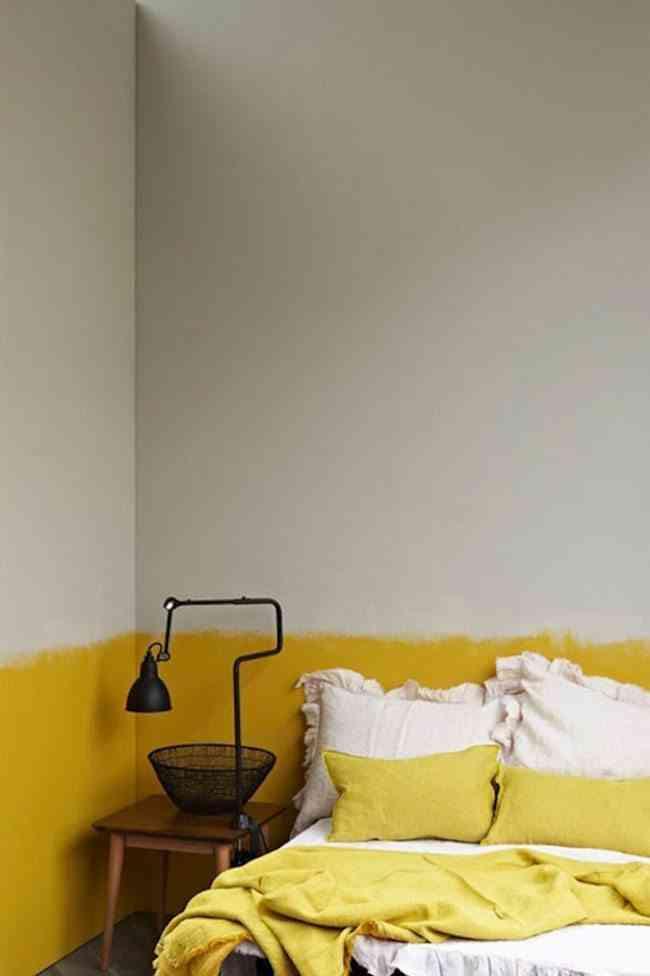 zocalos de pintura sugar amarillo