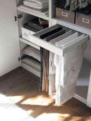 Distribuci n de armarios c mo organizar la ropa para - Organizar armario ikea ...