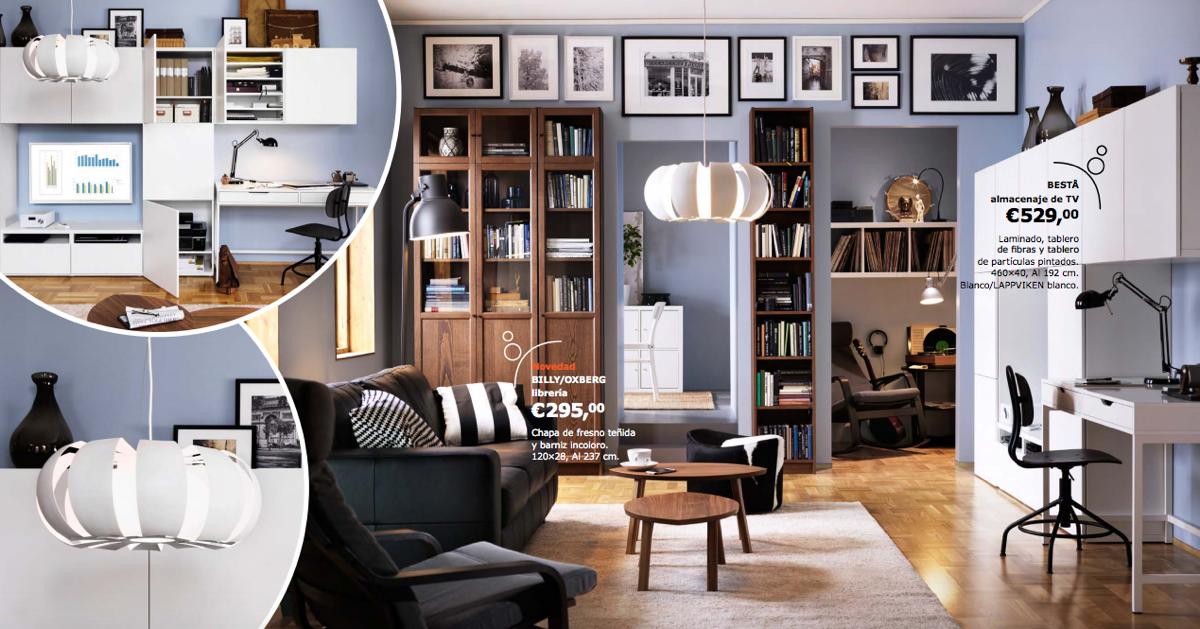 Catálogo IKEA 2017 salones