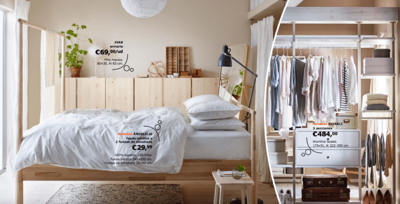 Catálogo IKEA 2017 novedades dormitorios