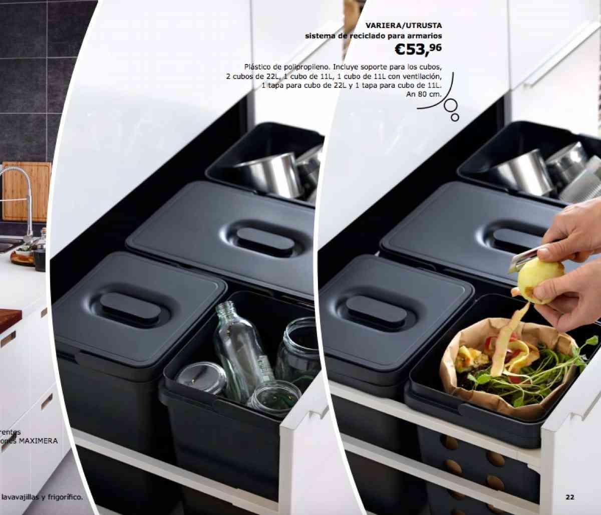 ideas para mantener la cocina limpia y ordenada en catalogo ikea