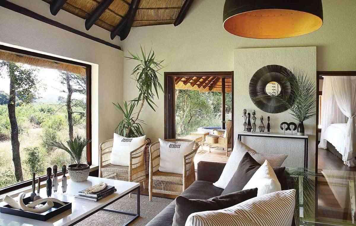 Figuras de madera africanas decora con estilo tnico for Muebles africa