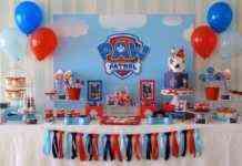 cumpleaños de la patrulla canina decoración
