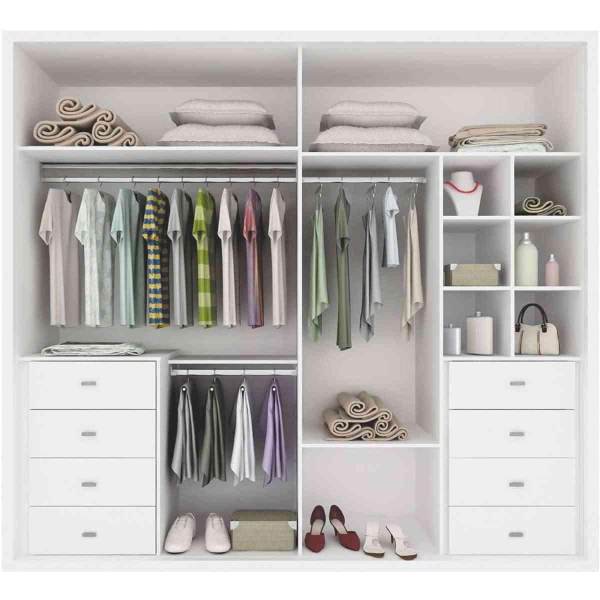Distribuci n de armarios c mo organizar la ropa para - Armarios de habitacion ...