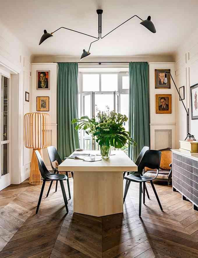 apartamento de estilo frances comedor 2