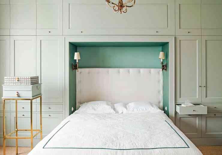 apartamento de estilo frances dormitorio