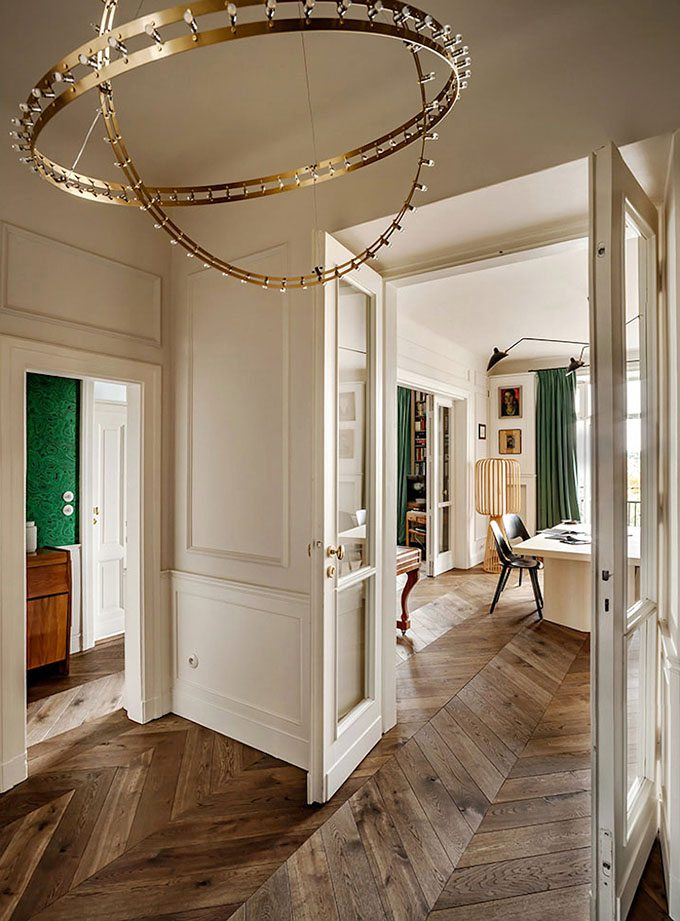 apartamento de estilo frances entrada