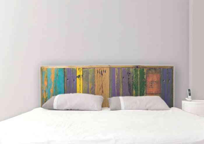 Ideas para cabeceros de cama pintados que puedes hacer t - Cabecero con fotos ...