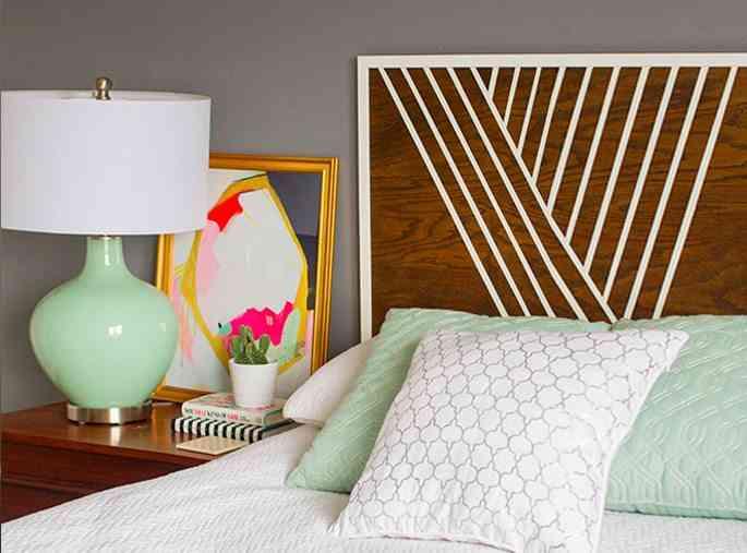 Ideas para cabeceros de cama pintados que puedes hacer t mismo