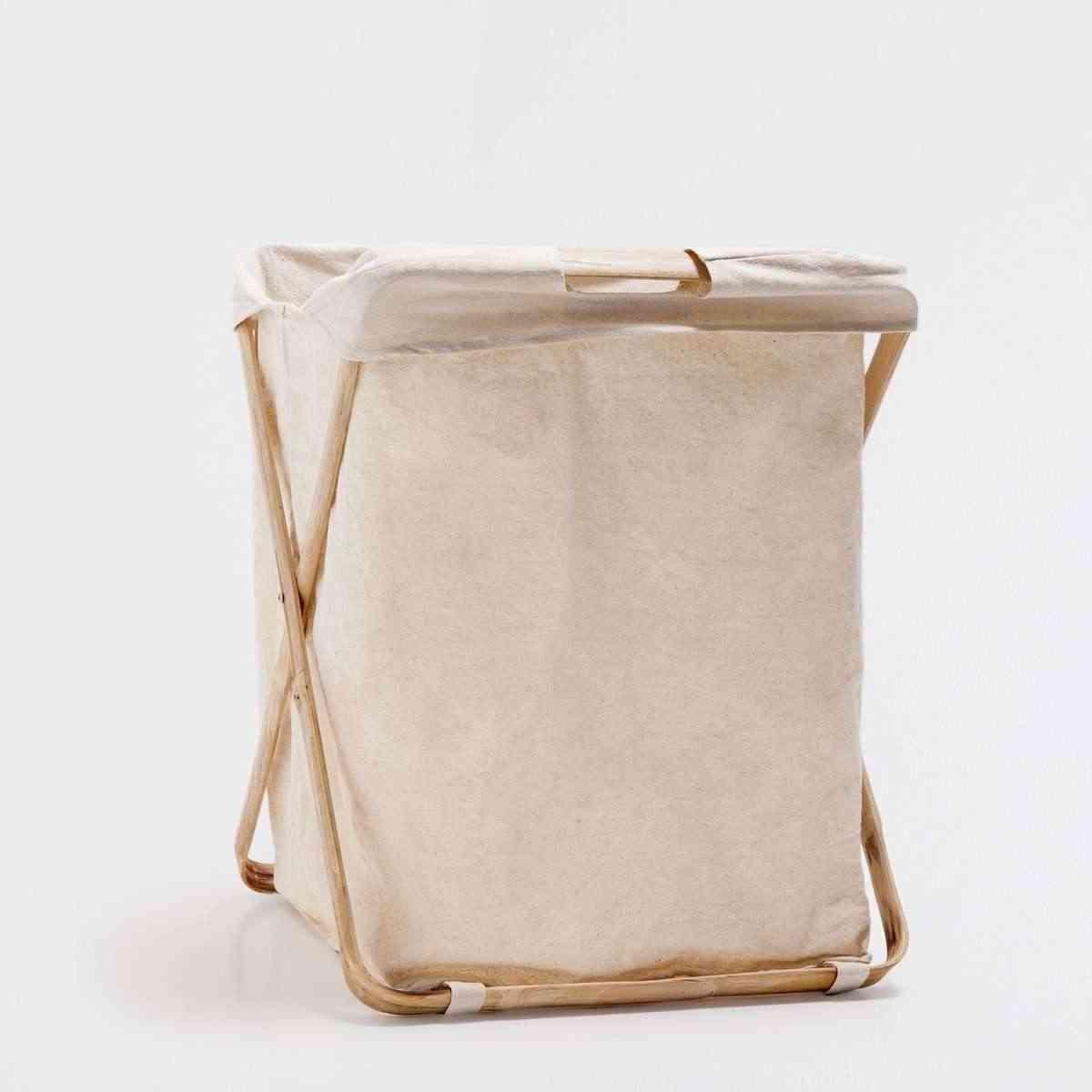 Mueble de madera para ropa sucia - Cestos de madera ...