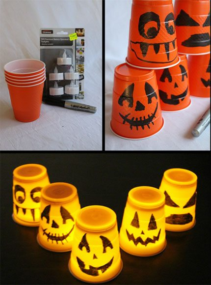 cf415aa76a2 Ideas terroríficas para decorar con luces en Halloween