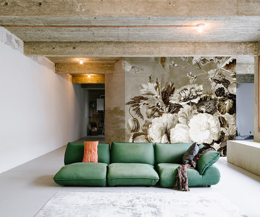 Impresionantes murales de pared grandes mapas bosques y m s for Decorar paredes grandes