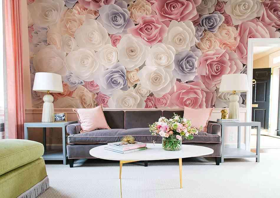 murales-de-pared-grandes-pixers-rosas