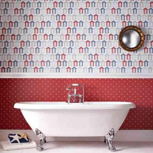 redecorar tu cuarto de bano papel housetohome
