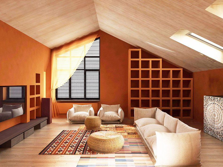 Por qu elegir el color rojo terracota para decorar la casa - Colores tierra para interiores ...