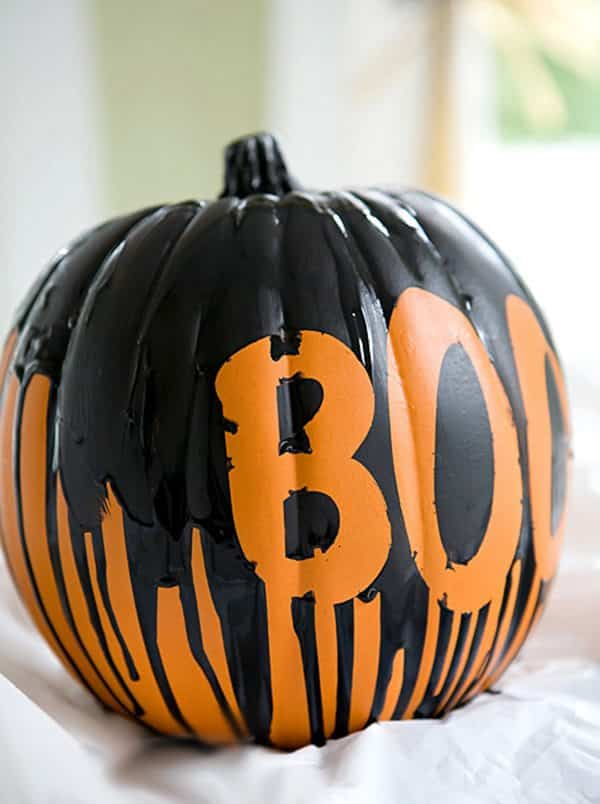 Cmo hacer calabazas decoradas con pintura para Halloween