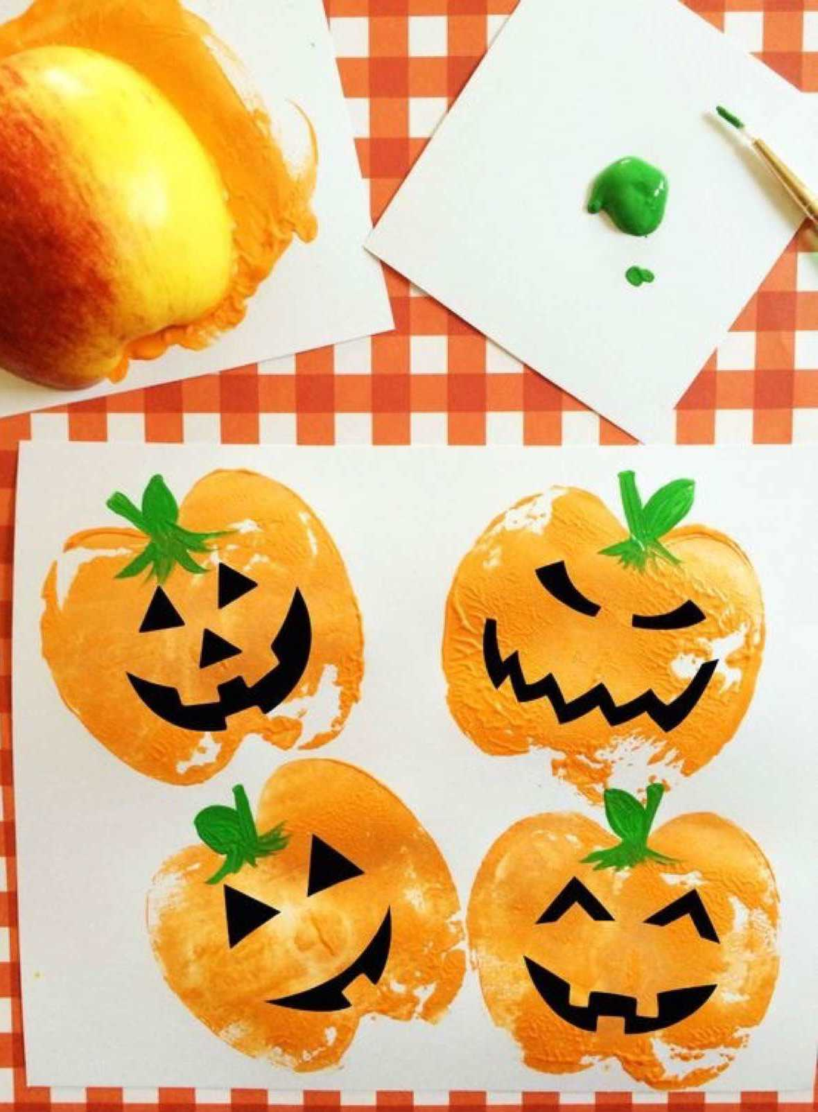 Manualidades infantiles de halloween para hacer en familia for Kindergarten bastelideen herbst