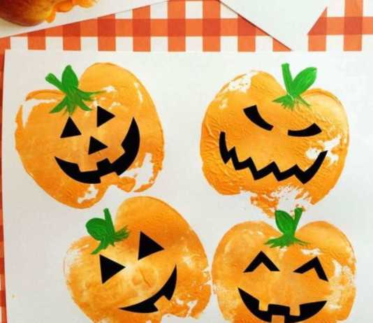 manualidades infantiles de halloween