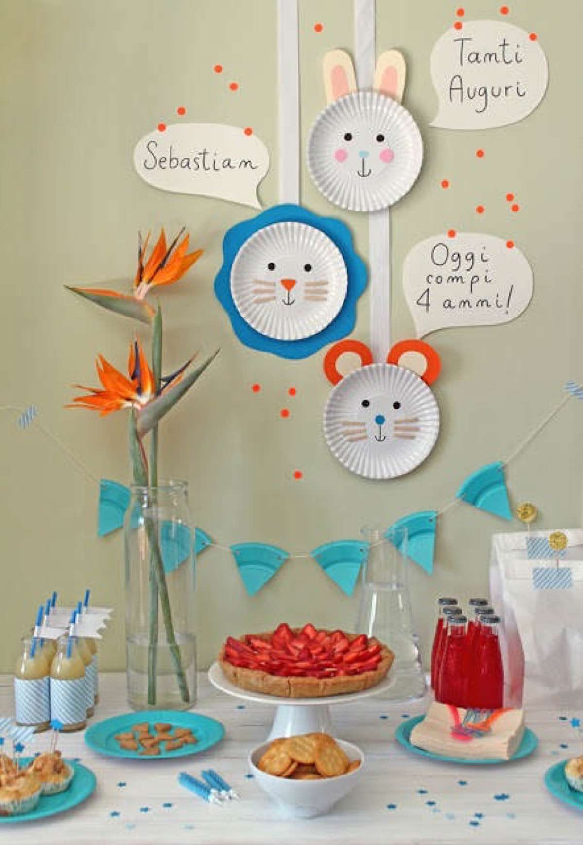 Decoraci n de fiestas infantiles con material reciclado for Decoracion oficina creativa