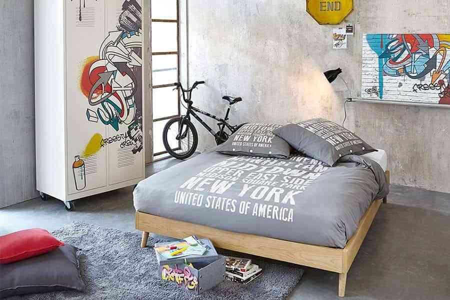 Las mejores habitaciones juveniles de estilo industrial for Mejores recamaras