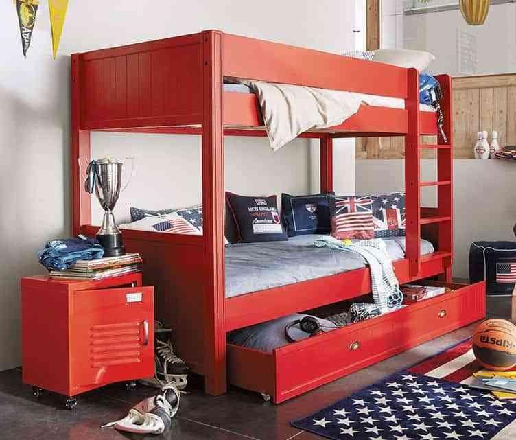 habitaciones-juveniles-de-estilo-industrial-maison-muebles-rojo
