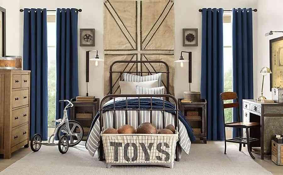 habitaciones-juveniles-de-estilo-industrial-the-house-cama