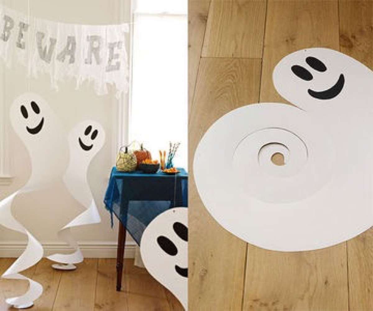 Manualidades infantiles de halloween para hacer en familia - Decoracion halloween para casa ...