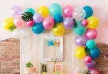 mesas decoradas para cumpleaños