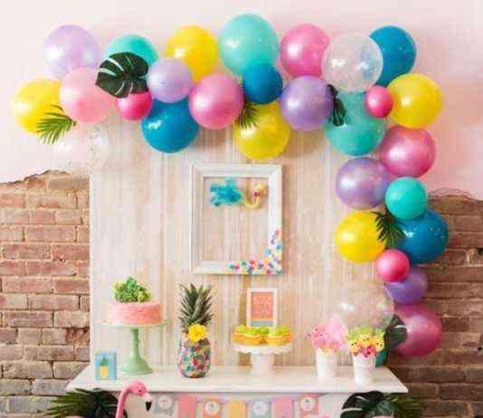 tables décorées pour les anniversaires