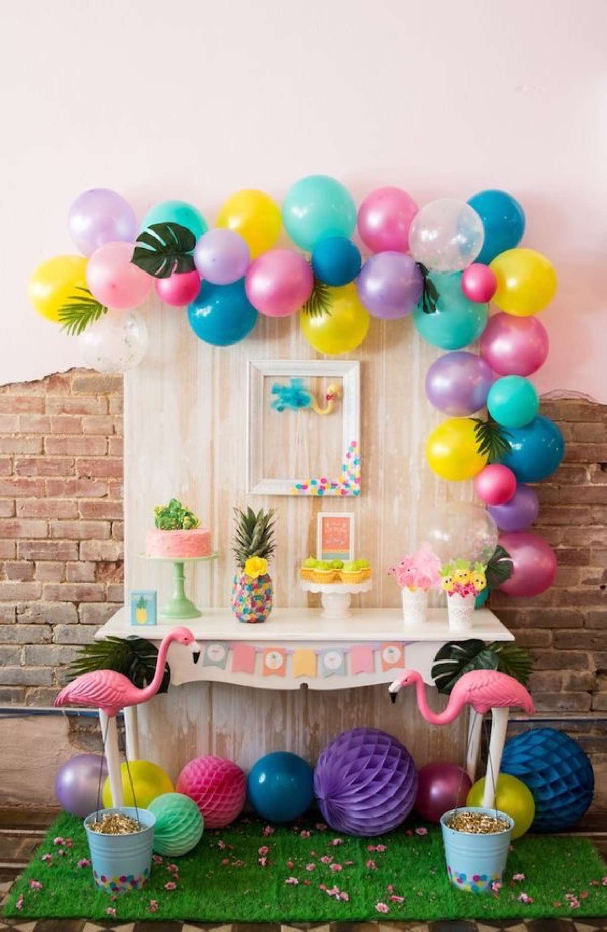 5 mesas decoradas para cumplea os y fechas especiales - Ideas decoracion cumpleanos ...