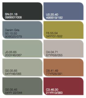 denim gris el color del a o 2017 de bruguer y sus