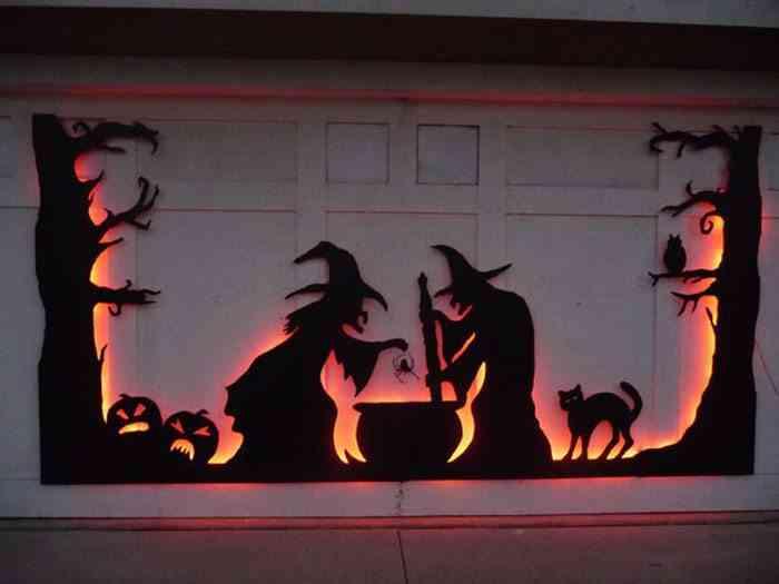 puertas y ventanas en halloween-instructables