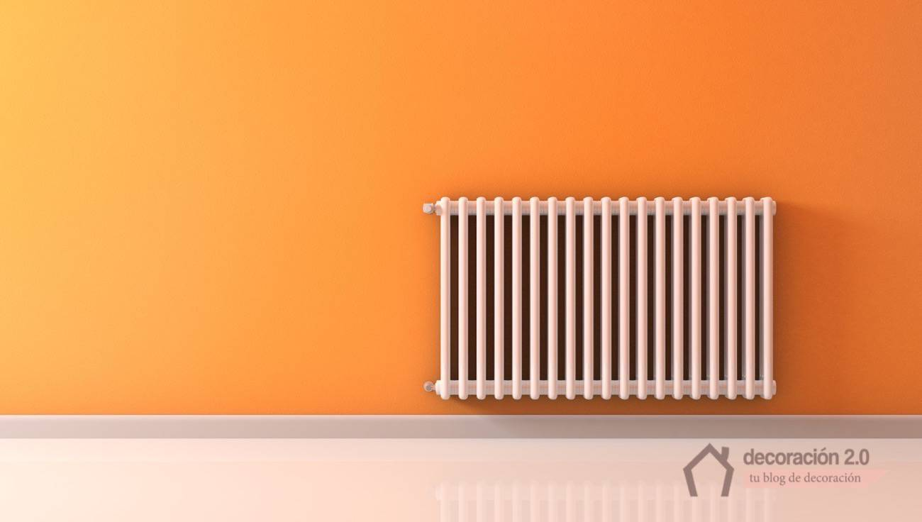 Heat our home with a radiator with fluid