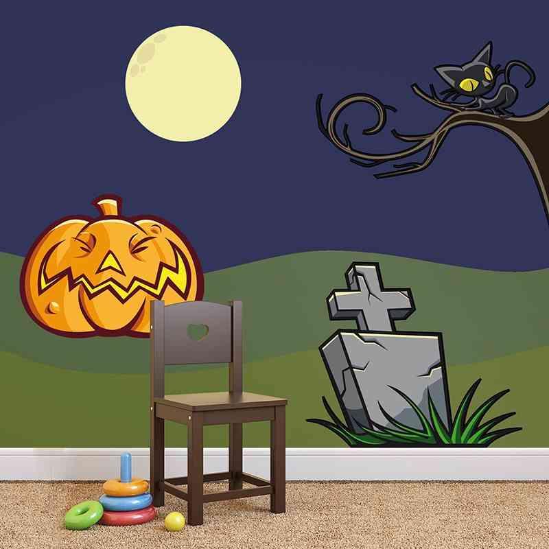 vinilos de halloween teleadhesivo