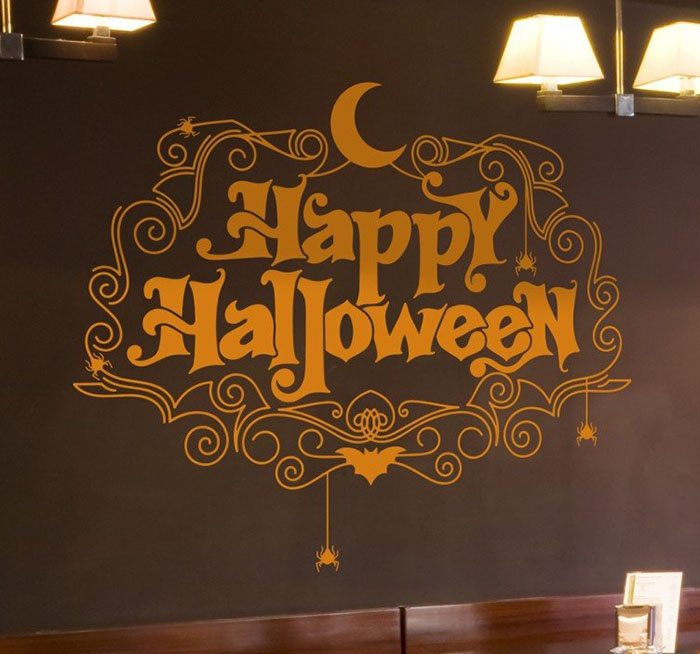 vinilos de halloween tenvinilo happy halloween